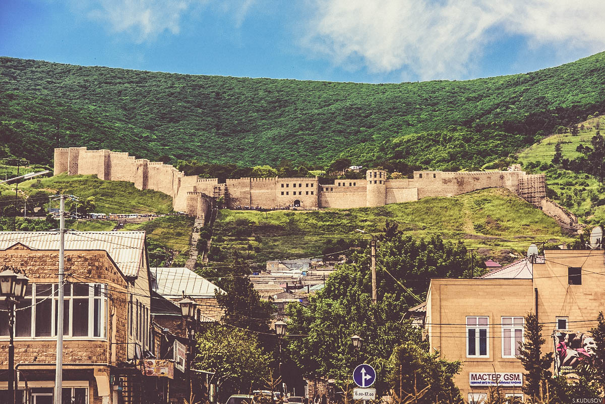 Derbent City Wall