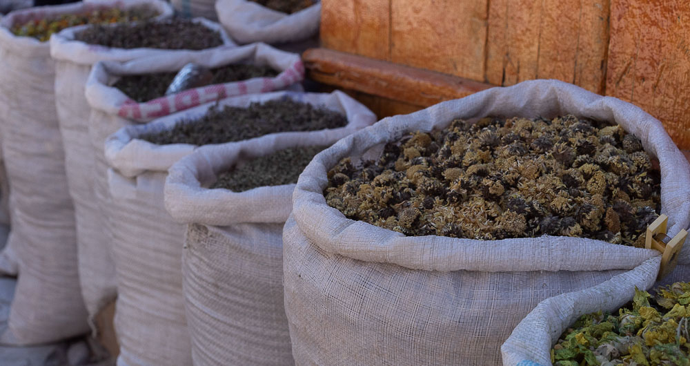 Spices from Lahic