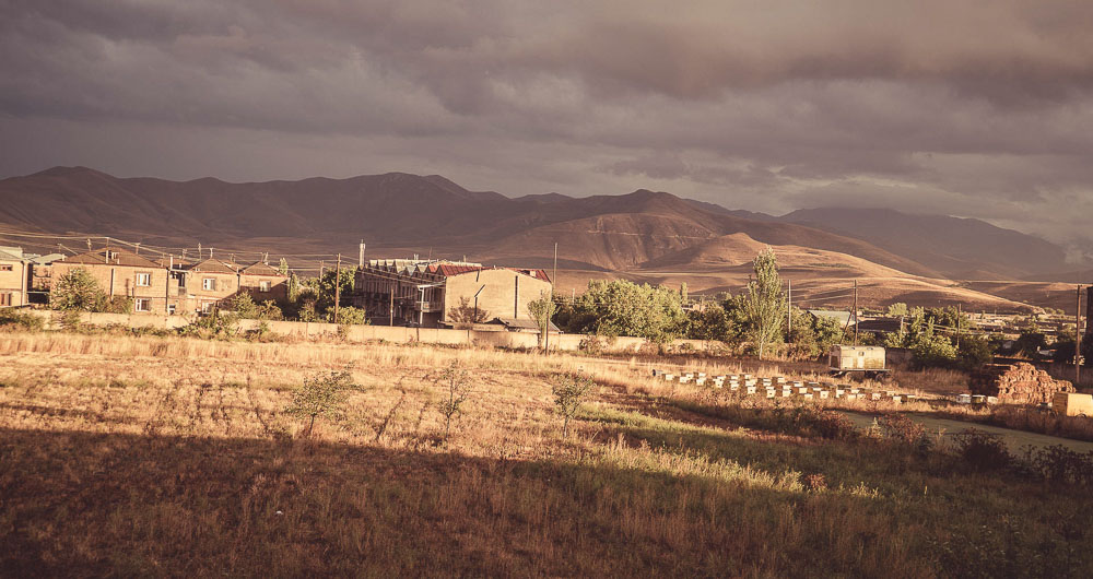 Sisian in Armenia