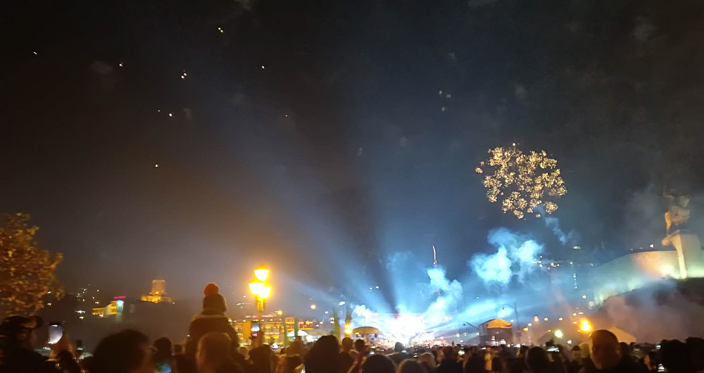 New Year 2018 in Tbilisi