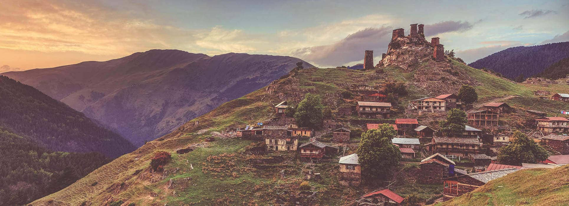 Caucasus travel in Georgia